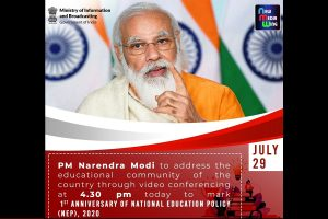 PM Modi to address country's education community, launch multiple initiatives to mark first anniversary of NEP 2020