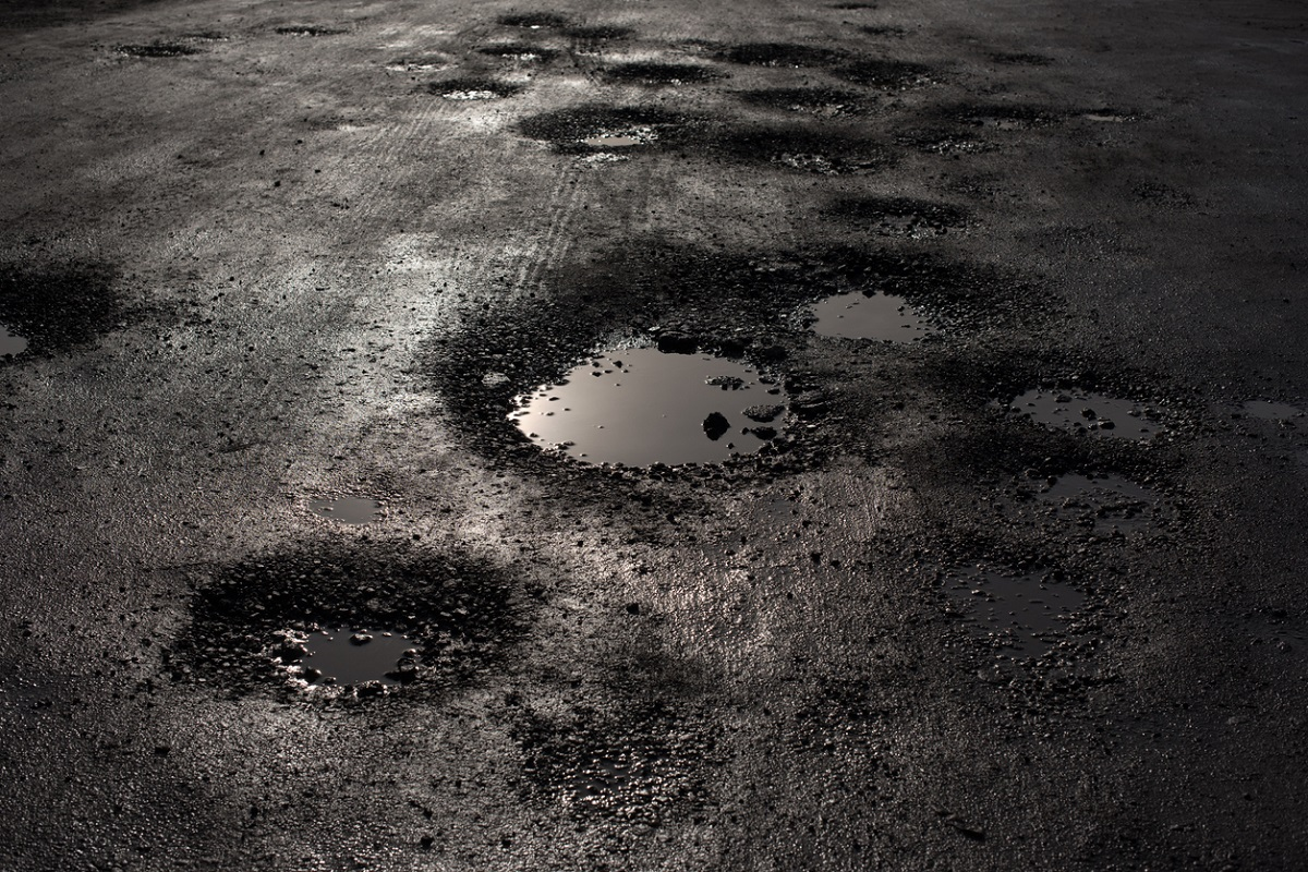 crater-filled roads, Balurghat, Balurghat Municipality, South Dinajpur