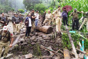 Eight persons killed, 14 missing after cloudburst in Kishtwar village