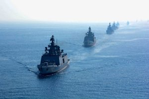 India's first training squadron sails in Sri Lanka for integrated training of officers