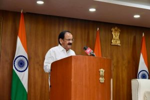 Vice President Naidu lauds 14 engineering colleges for offering courses in regional languages