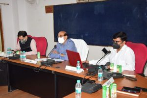 GM highlights achievements of North Central Railway over quarter ending of 2021-22