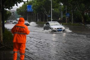 East China on highest alert as Typhoon In-Fa lingers