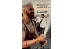 Arjun Rampal wraps up his portions for 'Dhaakad'