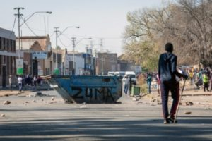 117 killed in violent protests in S.Africa