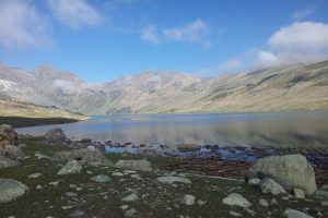 Army launches cleaning drive at Gangabal Lake on foothills of Harmukh peak