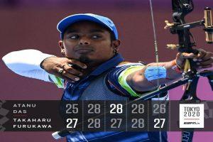 Das loses to Furukawa in pre-quarters