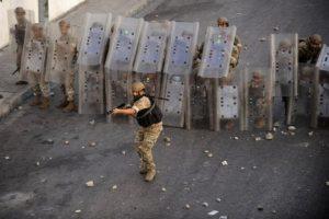 Lebanese PM-designate announces resignation, protests erupt