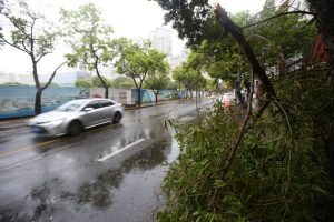 Typhoon Cempaka makes landfall in China
