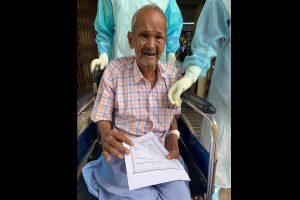 Nonagenarian defeats COVID in SUM hospital