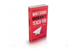 'What school doesn't teach you' in a debut book