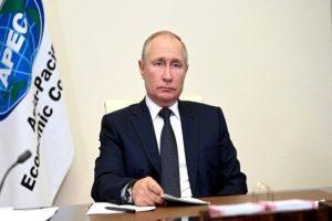 Putin advocates int'l cooperation in combating Covid