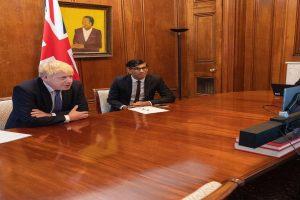 Johnson, Sunak to self-isolate