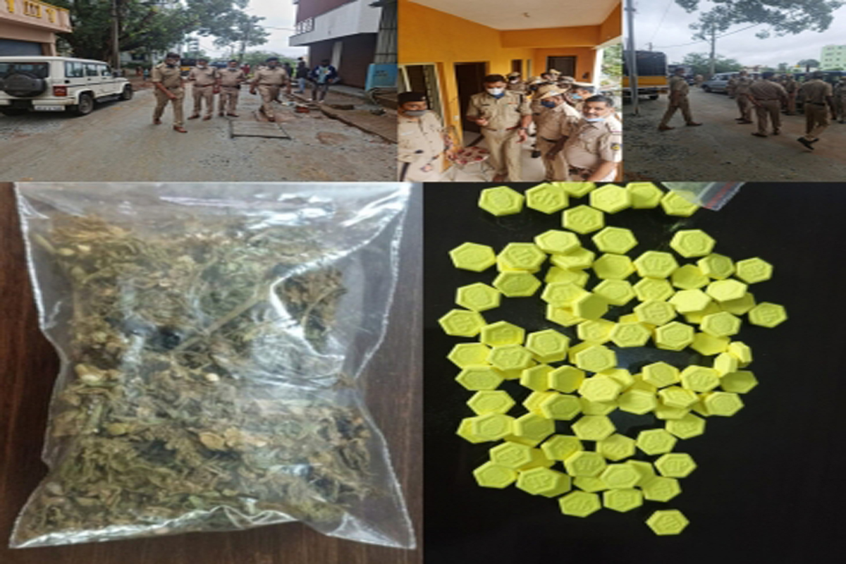 Drug, Bust, One Crore, seized, arrested