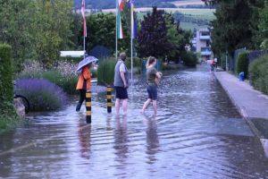 Maximum flood warnings issued in Switzerland