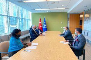 Ahead of UNSC presidency, Tirumurti meets UNGA's Bozkir