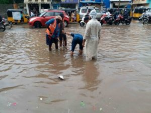 16 Telangana districts see flooding due to heavy rains