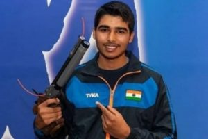 Saurabh Chaudhary qualifies for the final of 10m air pistol