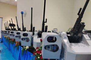 OFB hands over heavy machine guns to Navy & Coast Guard