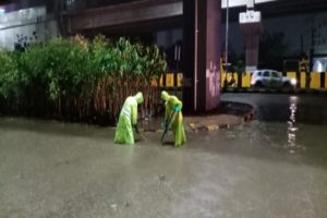Heavy rains inundate Hyderabad localities, suburbs