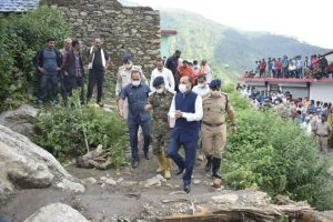 Himachal flash floods: 9 still missing, CM meets affected families