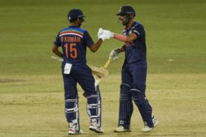 2nd ODI: Chahar takes India to thrilling 3-wicket win