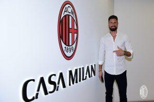 Olivier Giroud joins Milan
