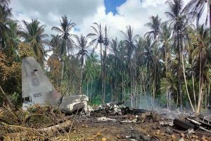 Philippine military's worst air disaster kills 50, wounds 49