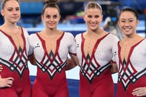 German gymnasts fight sexualisation of sport through their outfits