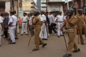 Job seekers clash with police outside WB Police HQ; demand recruitment