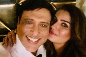 Raveena Tandon, Govinda have a 'grand reunion'