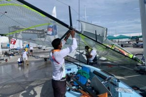 4 Indian sailors start training in Japan for Olympics