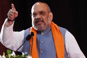 """""""Conspiracies"""" to derail India's growth trajectory: Shah on Pegasus"""