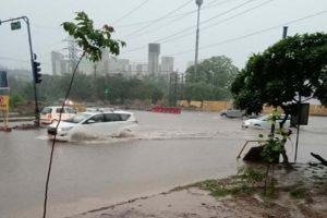 Gurugram, Heavy, Rain, Waterlogging, life