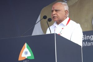 Yediyurappa to resign after govt's 2nd anniversary, say sources