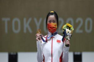 China's Yang takes first gold : Tokyo Olympics