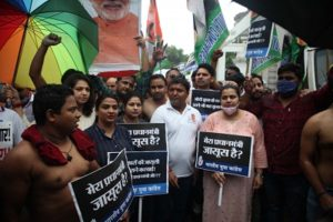 Youth Congress protests over phone tapping issue