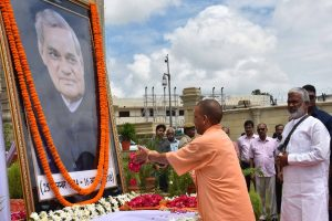 Yogi pays tributes to Vajpayee on his death anniversary