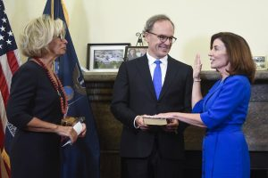 Kathy Hochul becomes first woman to be New York's governor