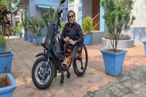 IIT-M develops India's first motorised wheelchair vehicle