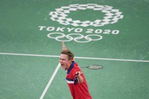 Olympics: Denmark's Axelsen wins men's singles badminton gold