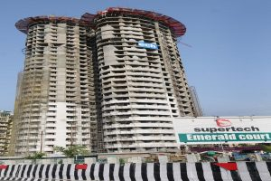 Supertech's 40-storey twin towers in Noida to be razed
