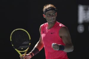 Medvedev advances; Nadal pulls out due to foot injury