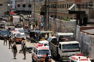Grenade hurled at truck in Karachi, 12 killed
