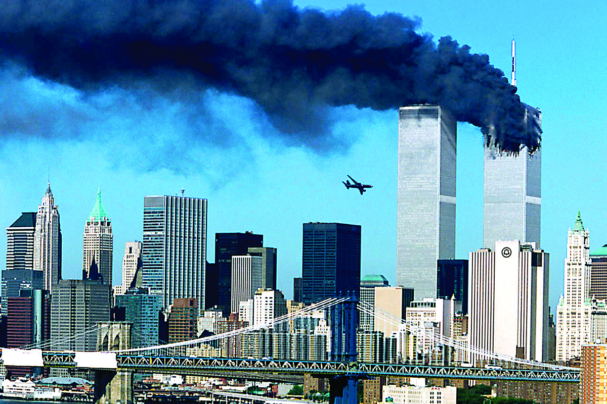 9/11 scar, Twin Towers, World Trade Centre, New York