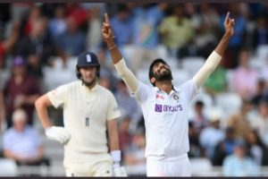 First Test: Bumrah picks five after Root ton, India need 209 to win