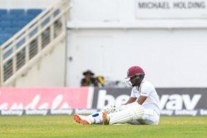 Brathwaite smashes 97 as West Indies take 1st innings lead vs Pakistan