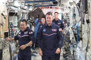 ISS astronauts enjoy space Olympics in zero gravity