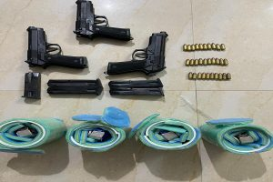 Punjab Police recovers 4 more hand-grenades & weapons concealed at Batala