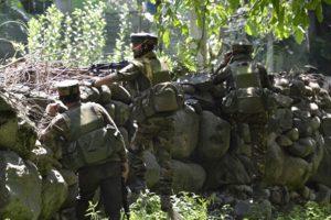 Terrorists open fire on BSF party in Kashmir